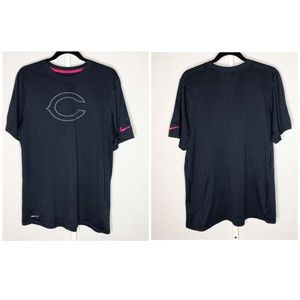 Chicago Bears Nike Dry Fit Tee - Size Large
